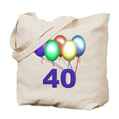 40 Gifts Tote Bag