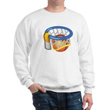 Basketball Ring Ball Sweatshirt