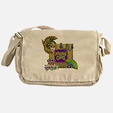 Mardi Gras Messenger Bag