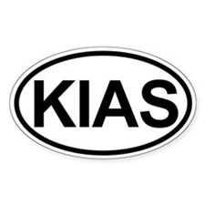 Kias Sticker (oval)
