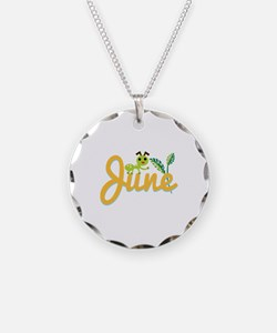 June Ant Necklace