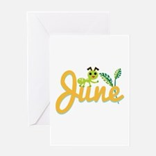June Ant Greeting Cards