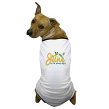 Sunny Days Dog T-Shirt