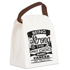 Mesothelioma Canvas Lunch Bag