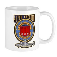 USS Nathan Hale 41 for Freedom Mugs