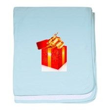 Christmas Gift Box baby blanket