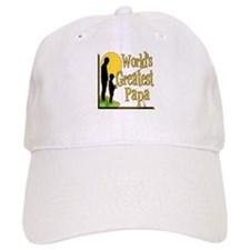 World's Greatest Papa Baseball Cap