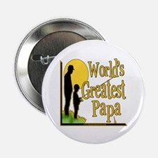 "World's Greatest Papa 2.25"" Button (10 pack)"