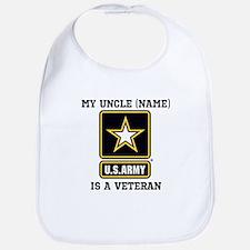 My Uncle Is A Veteran (Custom) Bib