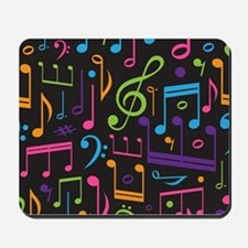 Music notes Band Choir Mousepad