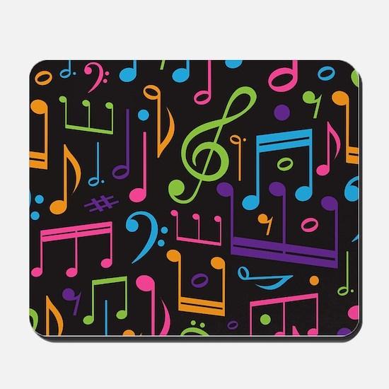 Music notes Band Choir Mousepad