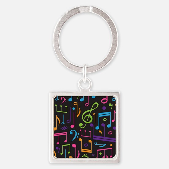 Music notes Band Choir Keychains