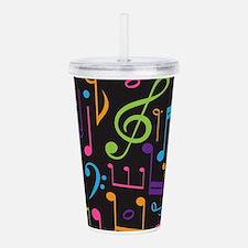 Music notes Band Choir Acrylic Double-wall Tumbler