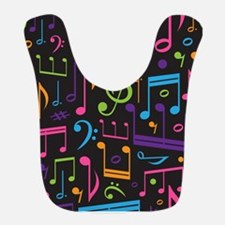 Music notes Band Choir Bib