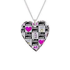 STYLISH BRIDESMAID Necklace Heart Charm