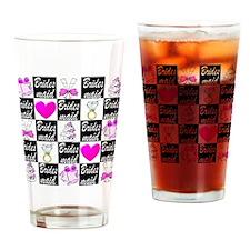 STYLISH BRIDESMAID Drinking Glass