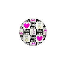 STYLISH BRIDESMAID Mini Button (10 pack)