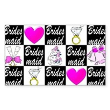 STYLISH BRIDESMAID Stickers