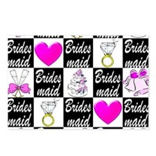 STYLISH BRIDESMAID Postcards (Package of 8)
