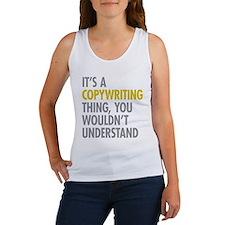 Its A Copywriting Thing Women's Tank Top