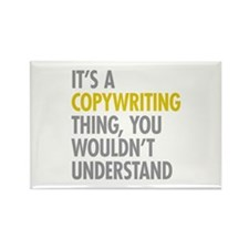 Its A Copywriting Thin Rectangle Magnet (100 pack)