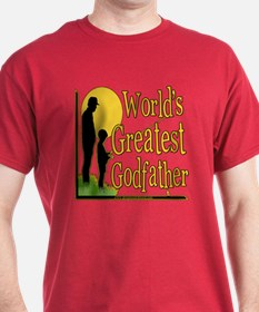World's Greatest Godfather T-Shirt