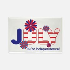 July Independence Magnets