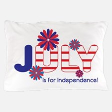July Independence Pillow Case