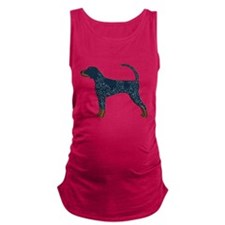 Blue Tick Coonhound Maternity Tank Top