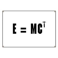 E equals MC Hammer Banner