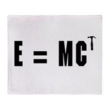 E equals MC Hammer Throw Blanket