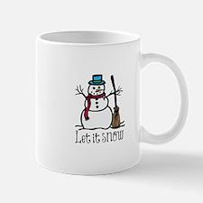 Snow Man Mugs