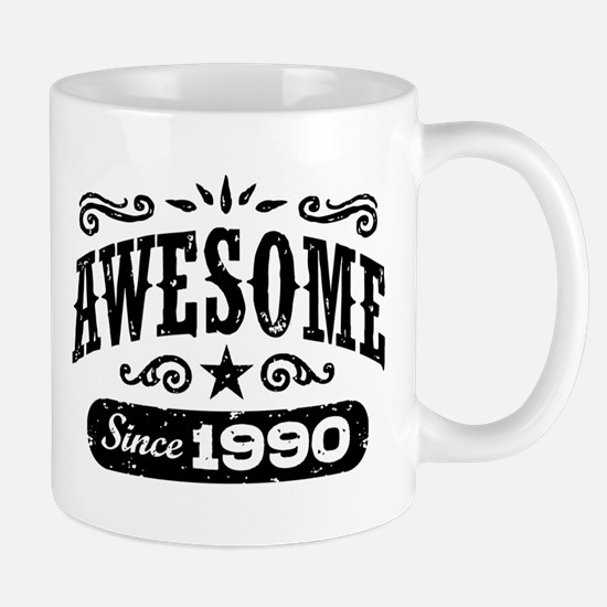 Awesome Since 1990 Mug
