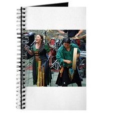 Cute Celtic harp Journal