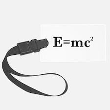 E equals MC squared Luggage Tag
