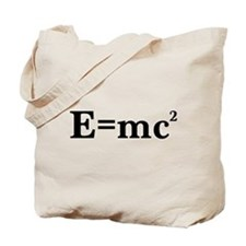 E equals MC squared Tote Bag
