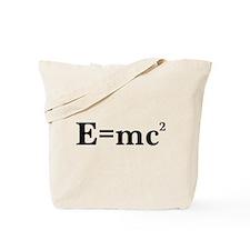 E equals MC squared Tote Bag