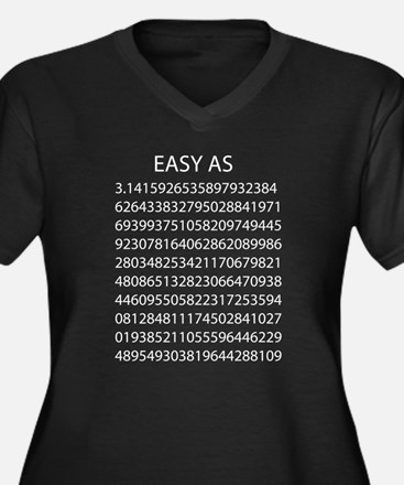 Easy as pi Plus Size T-Shirt
