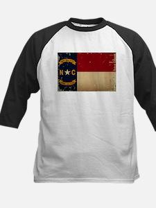 North Carolina State Flag VINTAGE Baseball Jersey