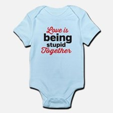 Love is being stupid Together Body Suit