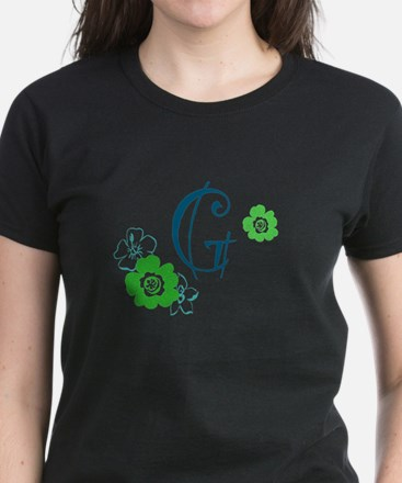 Letter G Women's Dark T-Shirt