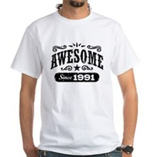 Awesome Since 1991 Shirt
