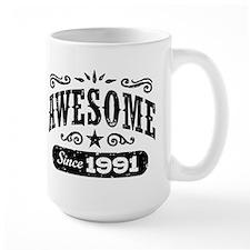 Awesome Since 1991 Mug
