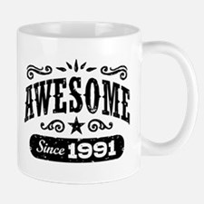 Awesome Since 1991 Mug