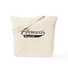 Fibonacci as easy as 1,1,2,3 Tote Bag