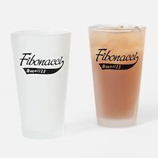 Fibonacci as easy as 1,1,2,3 Drinking Glass