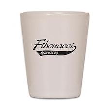 Fibonacci as easy as 1,1,2,3 Shot Glass