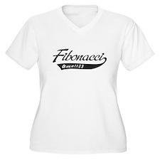 Fibonacci as easy as 1,1,2,3 Plus Size T-Shirt
