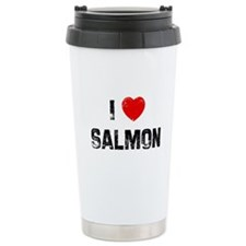 Cute Salmon Travel Mug