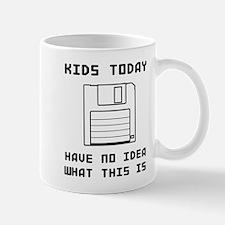 Floppy disk kids no idea Mugs